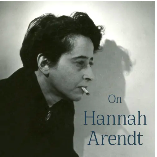 Hannah Arendt at Richard Saltoun all year