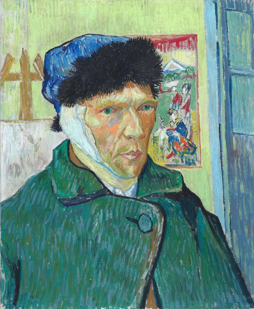Vincent van Gogh (1853-90) Self-Portrait with Bandaged Ear, 1889 Oil on canvas 60 x 49 cm