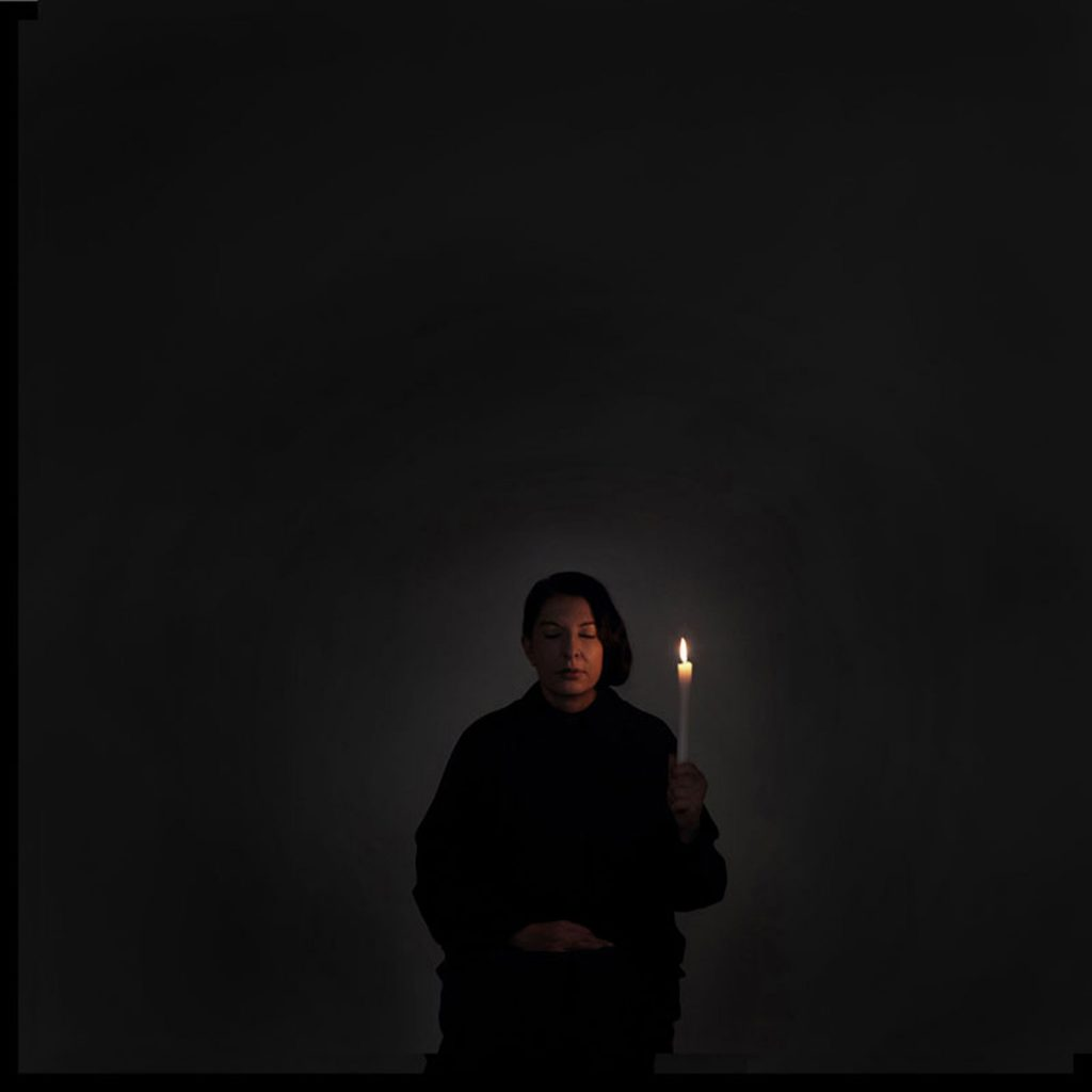 Artist Portrait with a Candle (A)', from the series With Eyes Closed I See Happiness, 2012