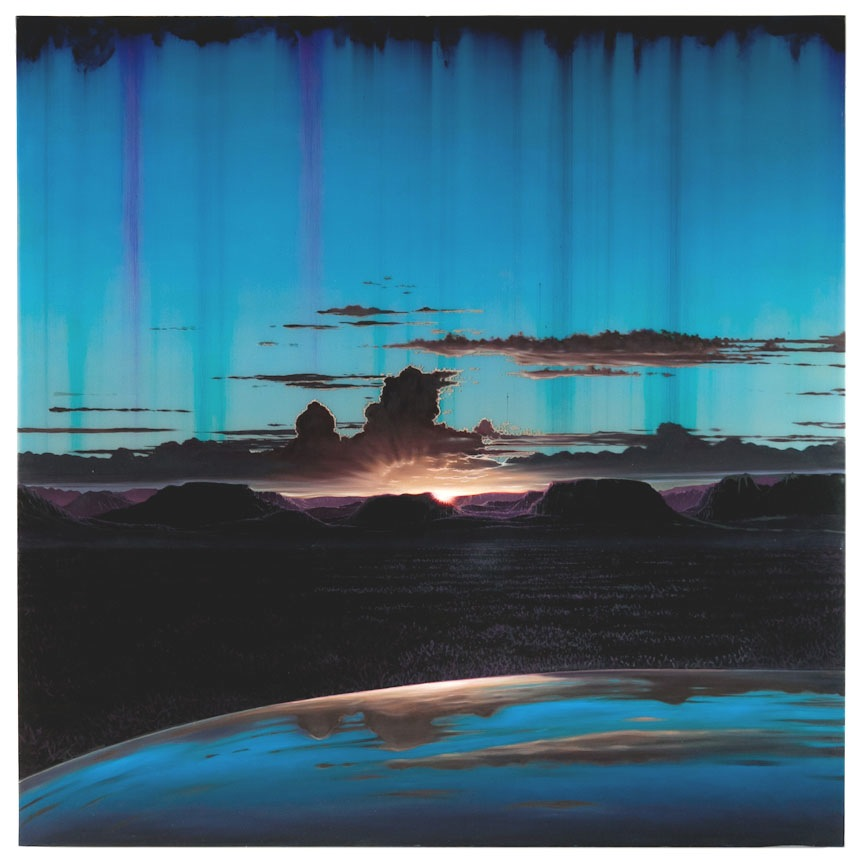 Shane McAdams Synthetic Landscape 60 Kayenta The Space Between the Stars at SCREAM Opening Reception on Thursday 10th January