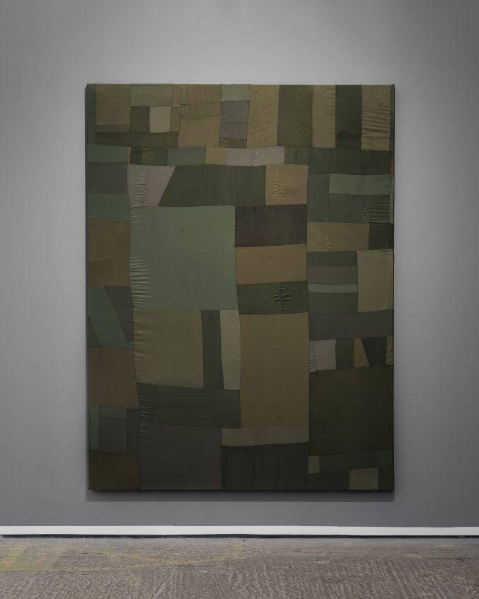 Heat, 2015 Textile collage. 183 × 137 cm