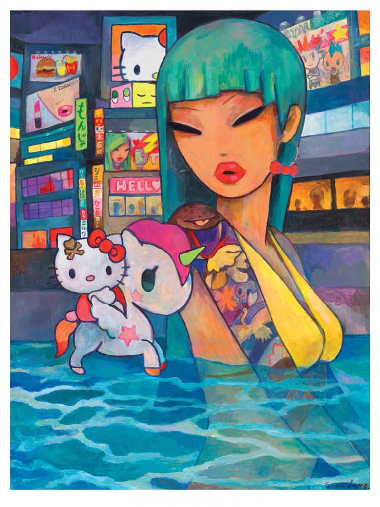 Simone Legno 800 767x1024 Hello Kitty, Hello Art! Art Exhibition & Book Launch Hits  New York City's Openhouse Gallery
