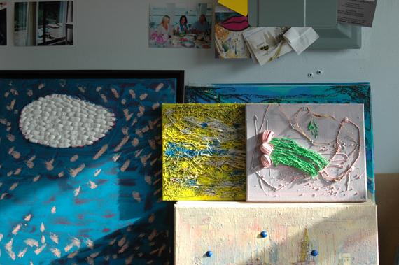 Studio New York, experimental cocoons artworks. Courtesy the artist.