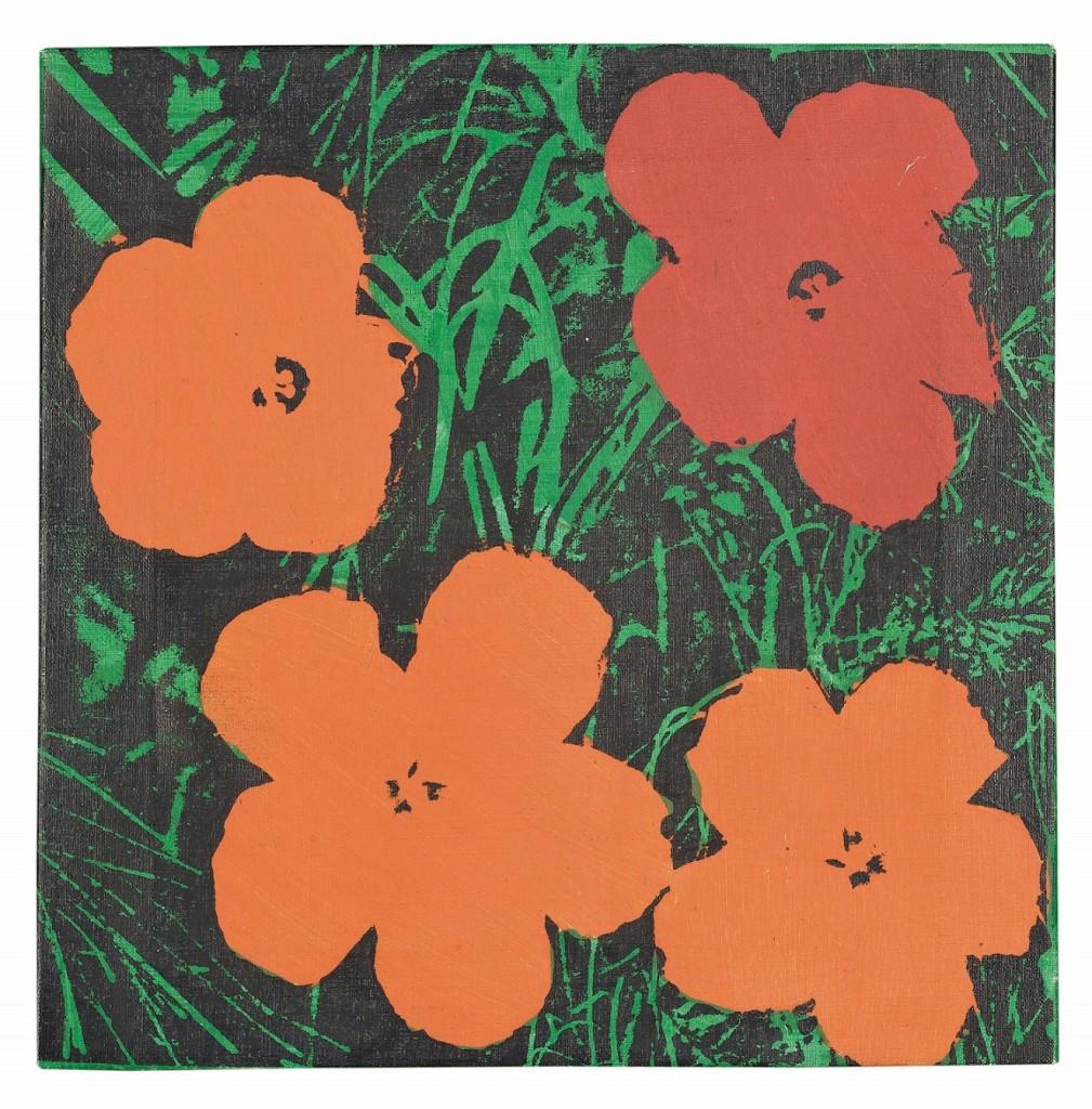 Sturtevant (1924-2014), Warhol Flowers