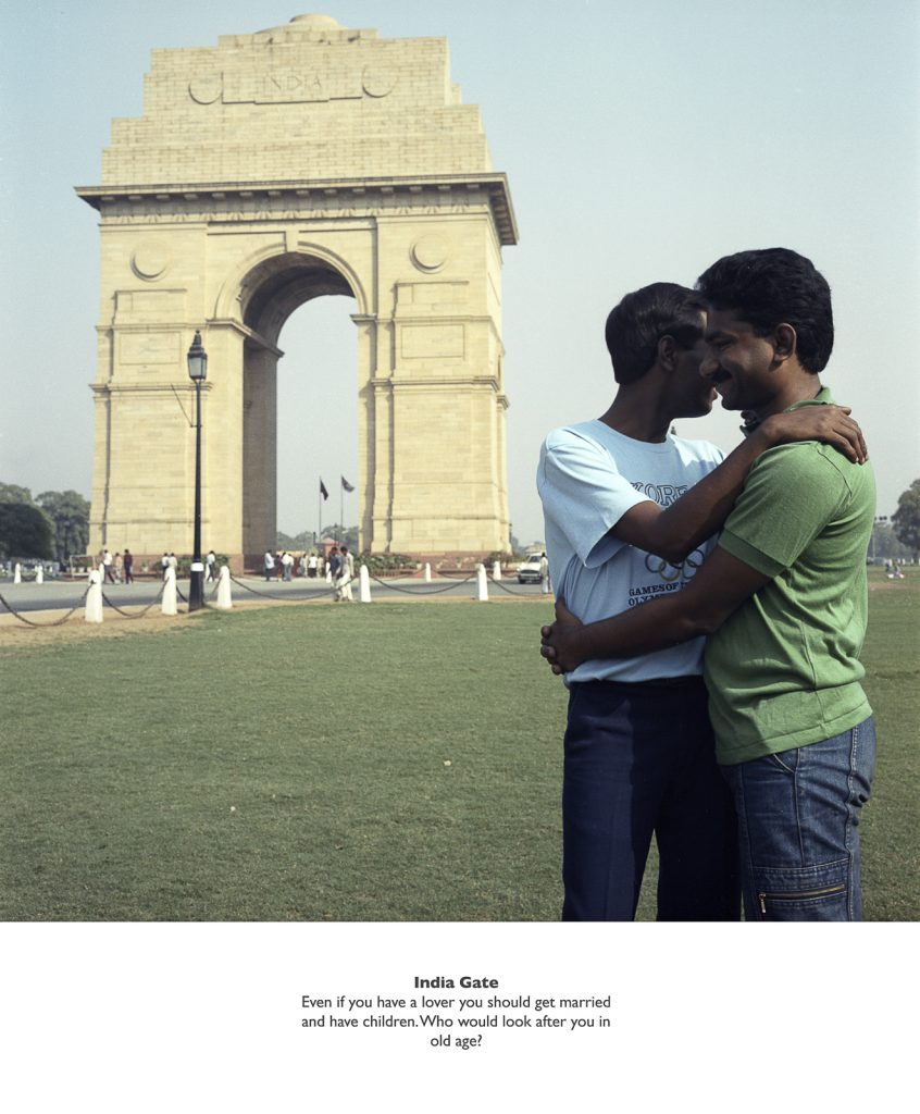 Sunil Gupta, India Gate from the series 'Exiles' (1987), c-type print, 80 x 64.5 cm, Arts Council Collection, Southbank Centre, London © the artist. FAD MAGAZINE