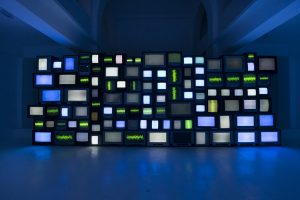 Susan Hiller Channels, 2013 Video installation with sound Dimensions variable Photo by Oh Dancy © Susan Hiller; Courtesy Lisson Gallery FAD Magazine