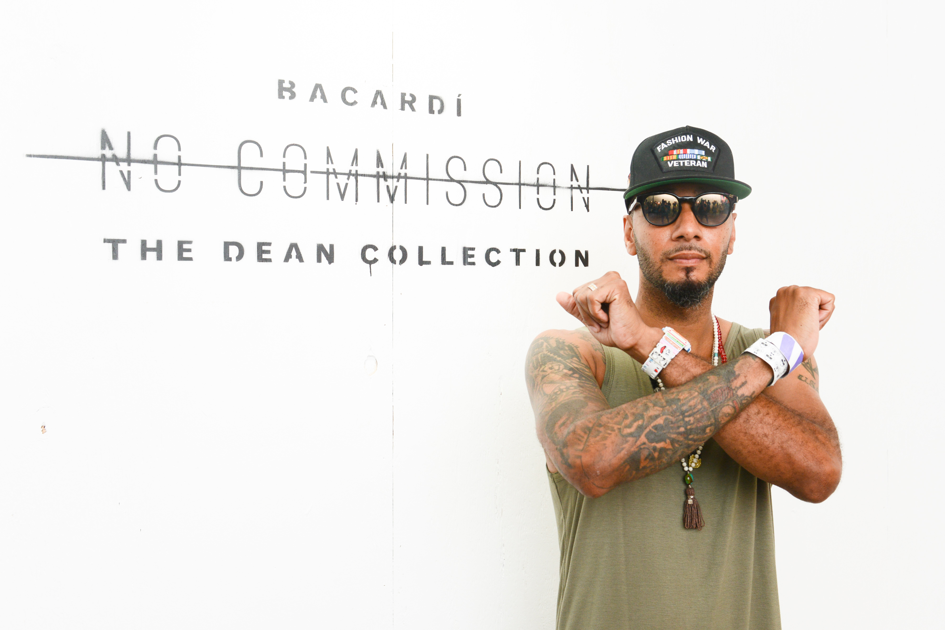 Swiss Beatz BACARDI and The Dean Collection Present No Commission: Art