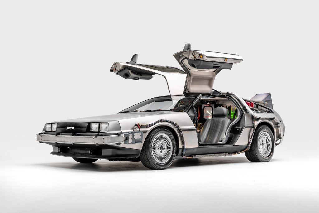 Back to the Future (1985) Time Machine