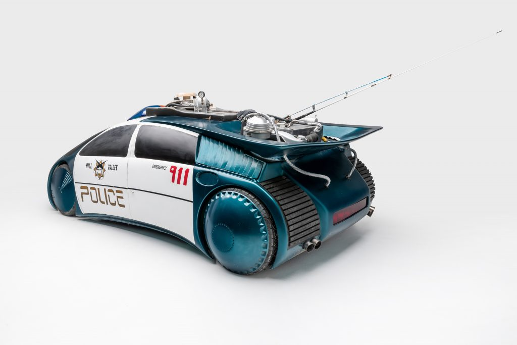 Police Car Back To The Future 2