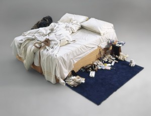 Tracey Emin, My Bed, (1998). Christie's Images Ltd 2014