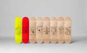 American artist Paul McCarthy creates TRUMP skate decks via The Skateroom available @HauserWirth FAD Magazine