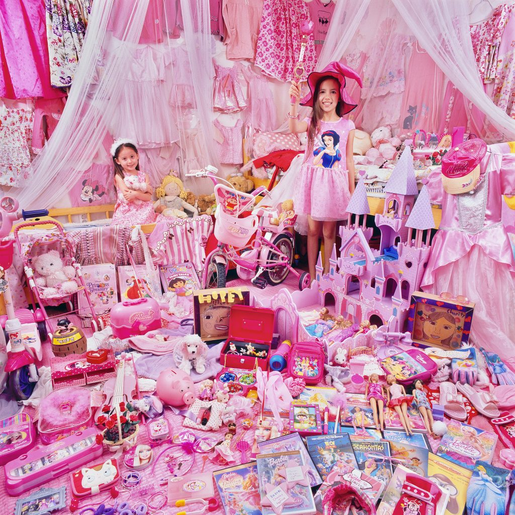 The Pink Project I - Charity & Hopey and Their Pink Things, Gyeonggi-do, South Korea, Light jet Print, 2011
