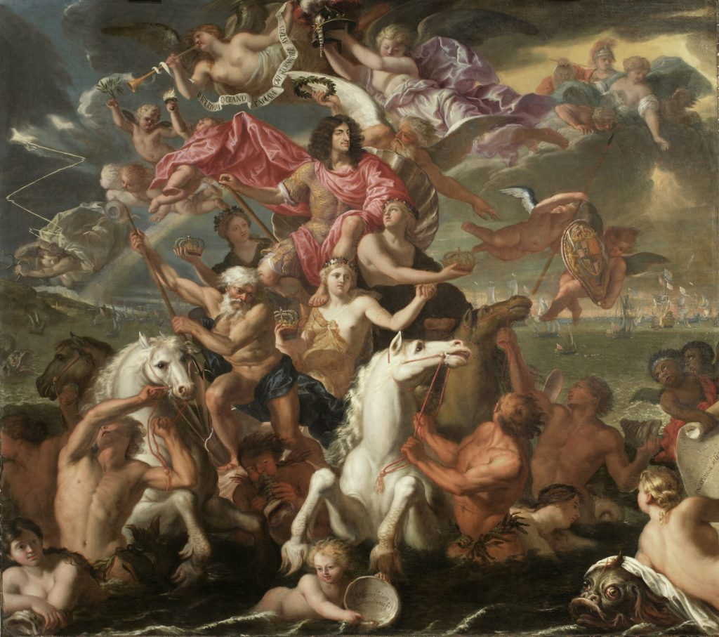 Antonio Verrio The Sea Triumph of Charles II, 1674