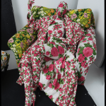 Tim Walker, Richard Quinn, floral chair and living mannequin, London, 2016 (c) Tim Walker Studio, Courtesy Michael Hoppen Gallery FAD Magazine