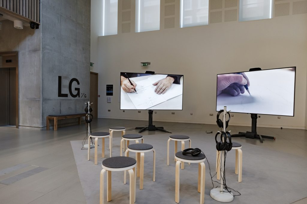 Installation shot, Time Tries All Things, 2019,Grace WeirPhoto: Thomas Skovsende, Courtesy Institute of Physics