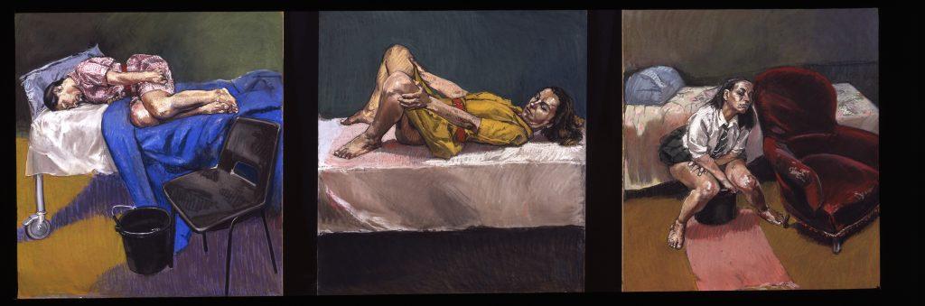 Paula Rego Tryptich, 1997-8