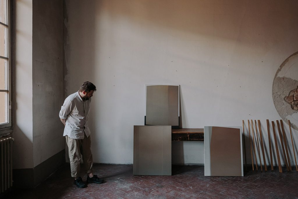 Tycjan Knut, Studio Shot 4, Courtesy Cadogan Contemporary, Photo Credit Marina Denisova FAD MAGAZINE