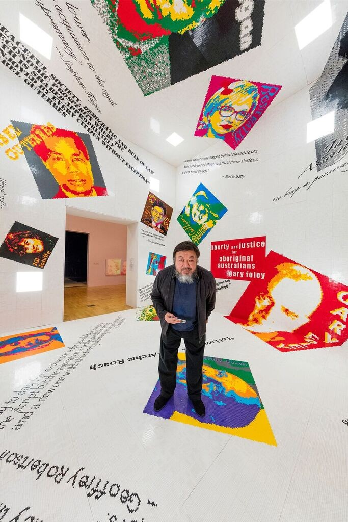 Andy Warhol | Ai Weiwei presents over 120 works by Ai Weiwei with over 200 works by Andy Warhol, exploring the full scope of both artists' practice.