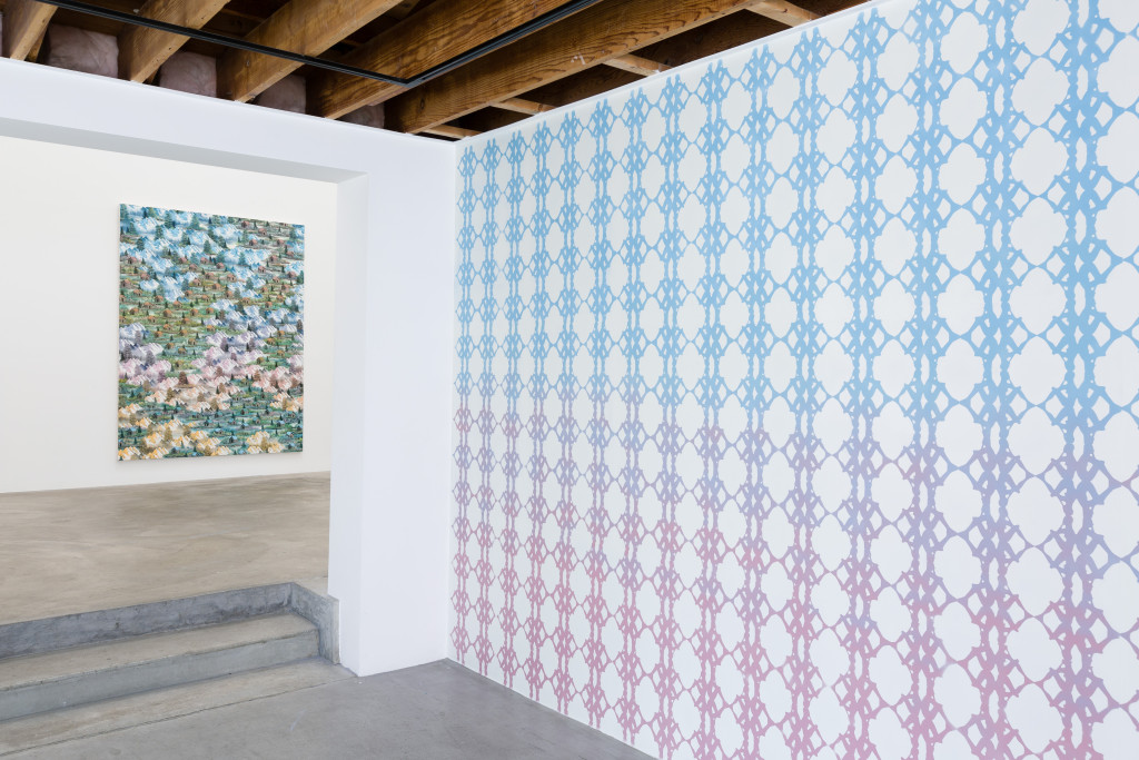 Neil Raitt, Happy Painting, Installation view, 2015 Anat Ebgi Gallery, LA