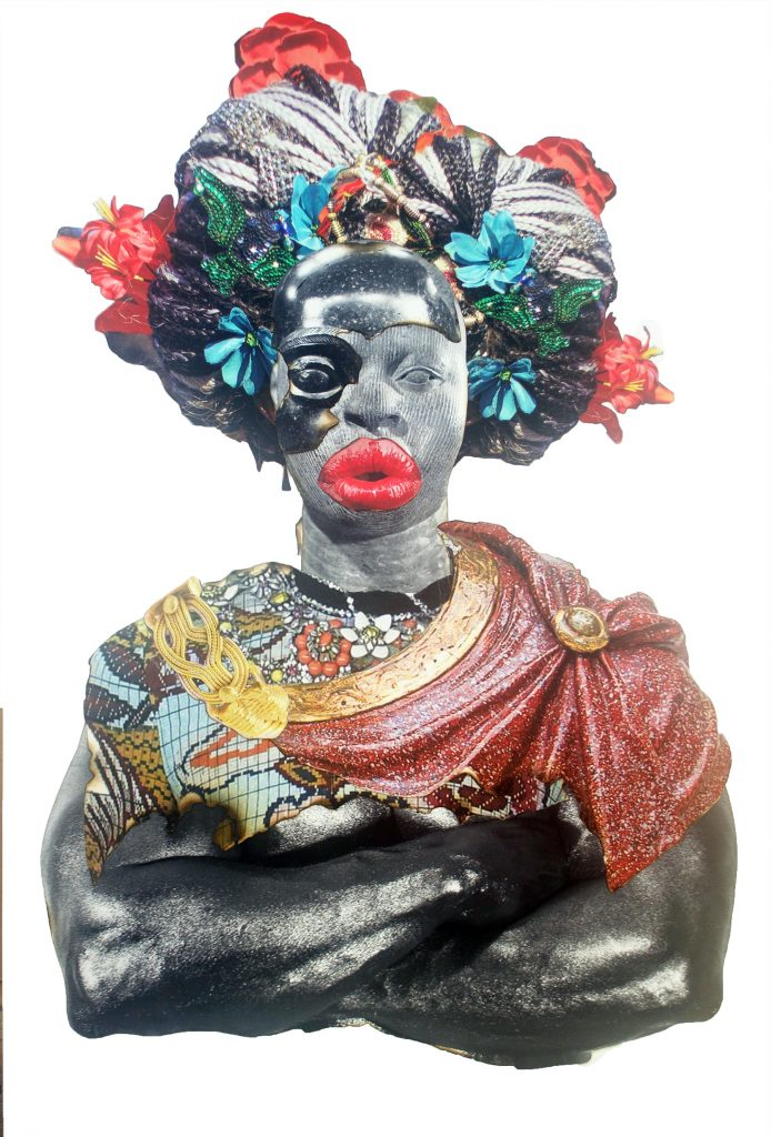 Harlem-based artist Stan Squirewell's first solo show in
