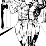 FAD MAGAZINE Untitled from Sex on the Train 1974 © Tom of Finland Tom of Finland Foundation Permanent Collection