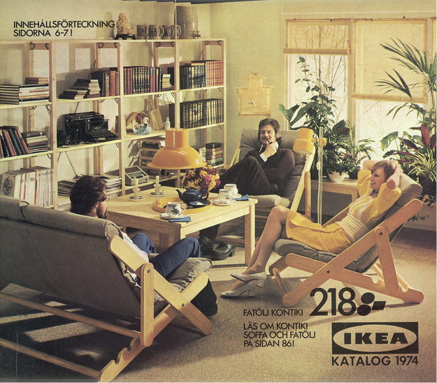 IKEA, Katalogcover, 1974 Claude Parent, Maison Parent, Neuilly-sur- © Inter IKEA Systems B.V. FAD MAGAZINE