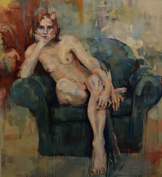 Venetia-Berry---Naked-Portrait--137x152cm