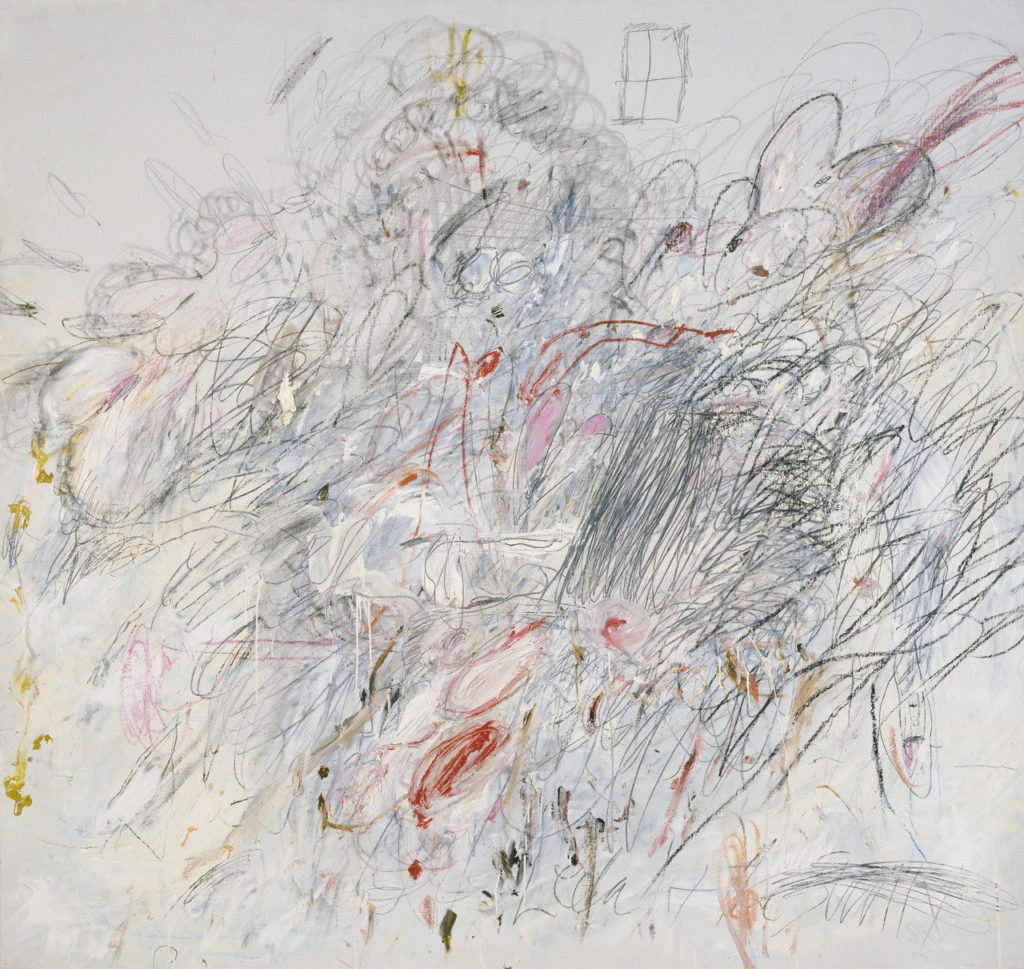 LEDA AND THE SWAN, 1962 Cy Twombly