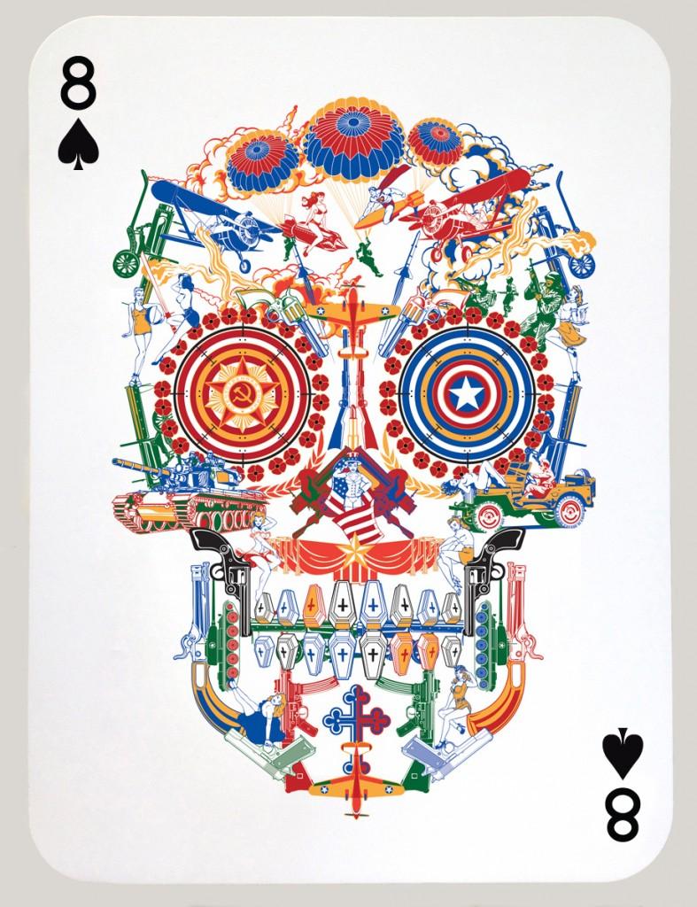 War Skull_8 of spades