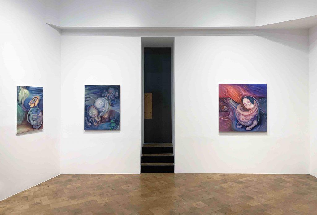 Xiuching-Tsay-Josh-Rowell-Paula-Morison-Daniel-Benjamin-Gallery-Installation-shots