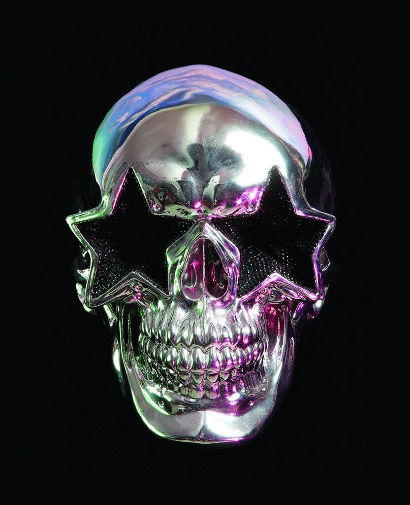 Y-Silver Star Skull 72dpi