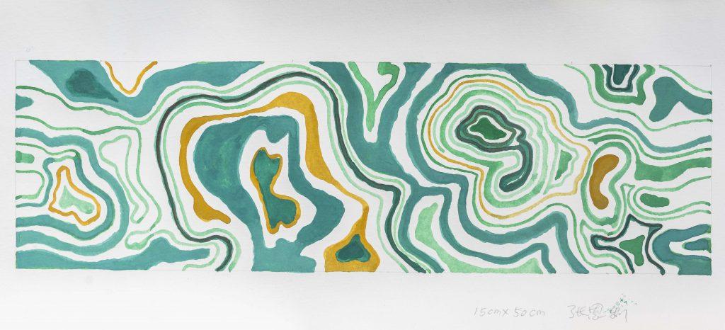 Zhang Enli Scarf Design