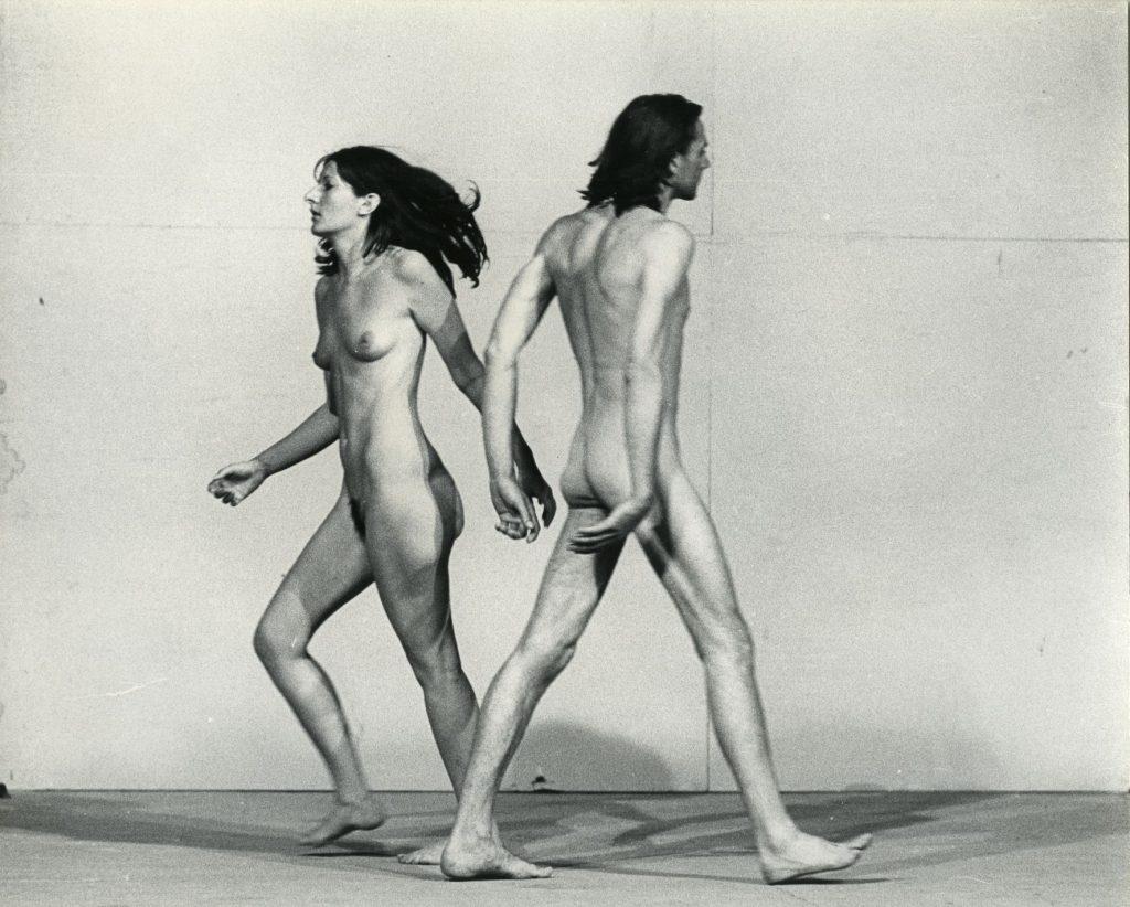Ulay/Marina Abramovi? Relation in Space Performance, 58 minutes, XXXVIII Biennale, Giudecca, Venice, July, 1976 © Ulay/Marina Abramovi? VG Bild-Kunst, Bonn 2017