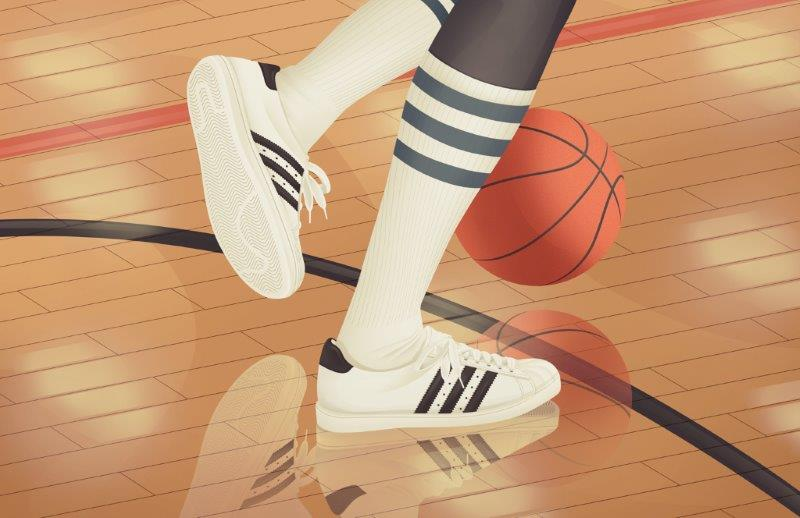 adidas Originals Superstar 'Herringbone Sole Cleaning the court.' By Jac...