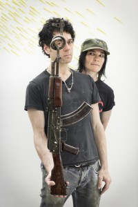 ak 47 Tim Noble and Sue Webster 1