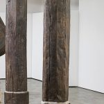 Aritist Alex Chinneck ties a knot in 450-year-old column