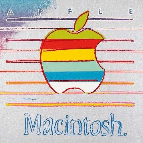andy-warhol-apple-logo-painting-1