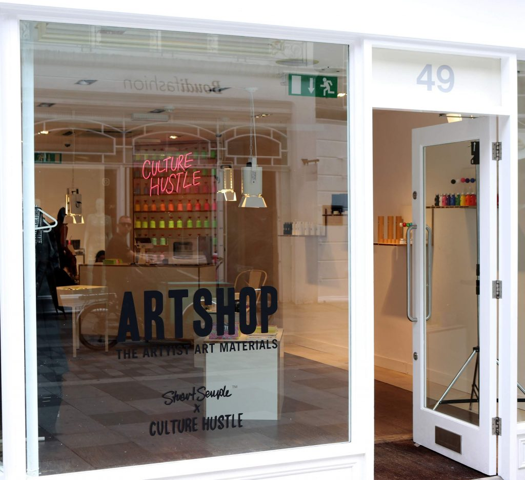 World renowned artist Anish Kapoor banned from Mayfair 'ArtShop' in ongoing feud.