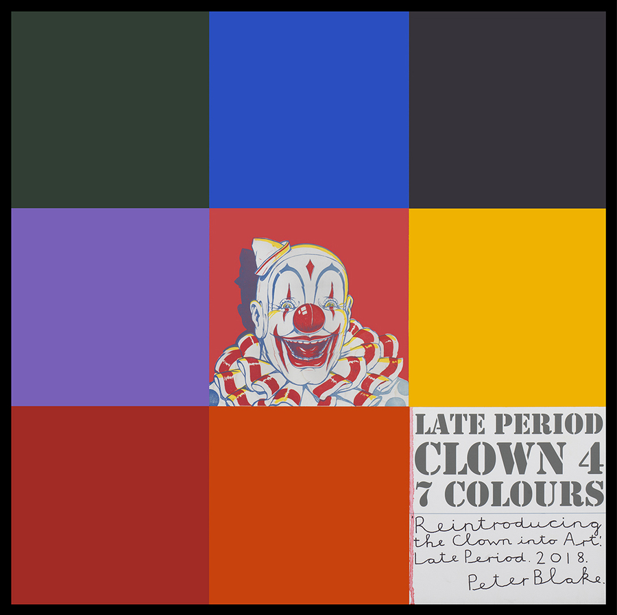 peter-blake-late-period-clown-4,-7-colours-acrylic,-enamel,-inkjet-print-on-wood,-9432x93cm_900