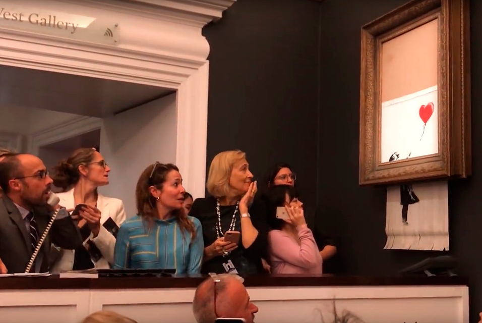 Shredded Banksy artwork in new exhibition opening next month