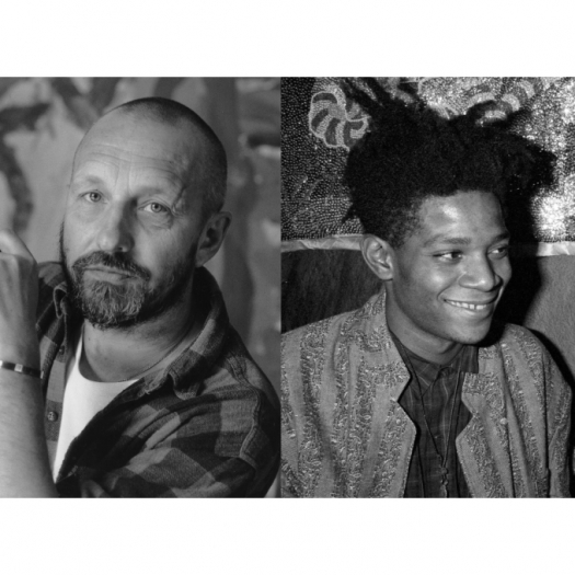 New exhibition brings together the eminent works of Basquiat and Baselitz from 1981-1982