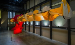 Turbine Hall installation. Courtesy Guardian