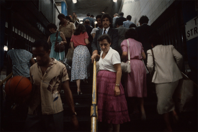 christopher morris NYC Subway 80s