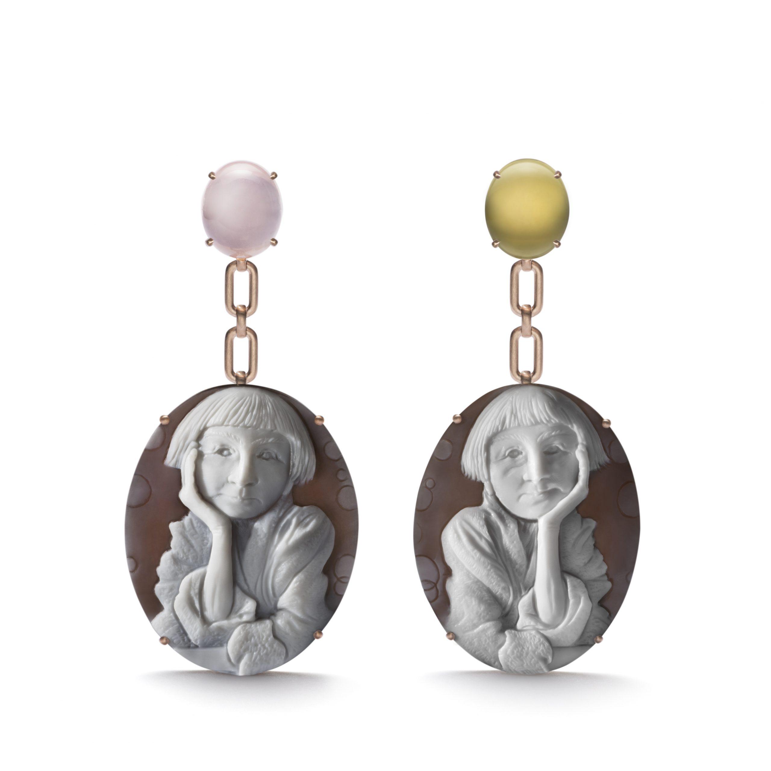 Cindy Sherman earrings, Courtesy of LizWorks