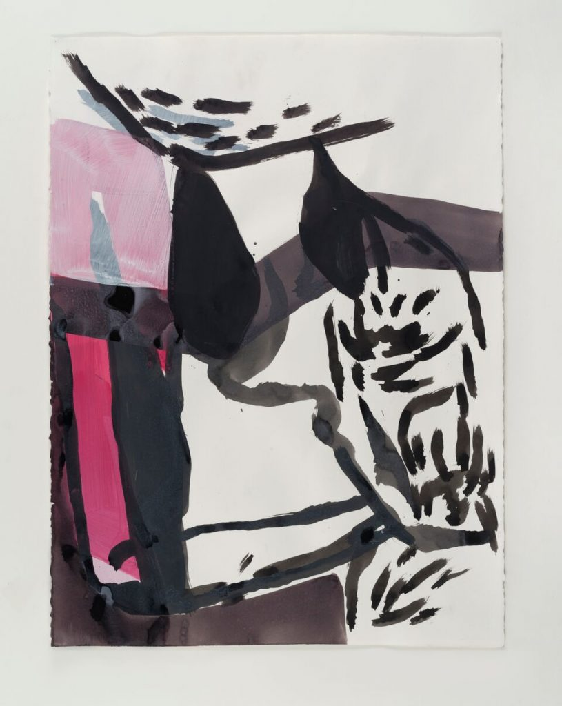 Amy  SillmanPink  Drawings,  2015-16Acrylic,  charcoal,  and  ink  on  paper40  drawings30  x  22  1/2  inches  /  76.2  x  57.2  cm  each  Copyright  Amy  SillmanCourtesy  the  artist