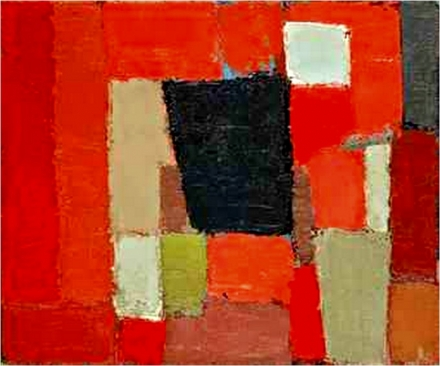 de stael red and black 1950
