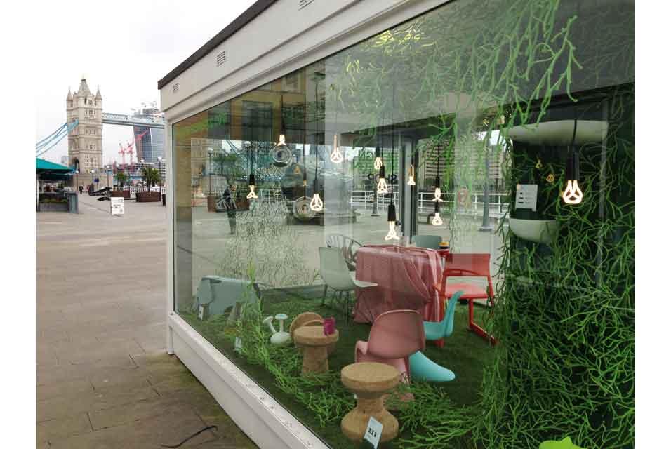 design museum vitra create pop up garden fad magazine. Black Bedroom Furniture Sets. Home Design Ideas