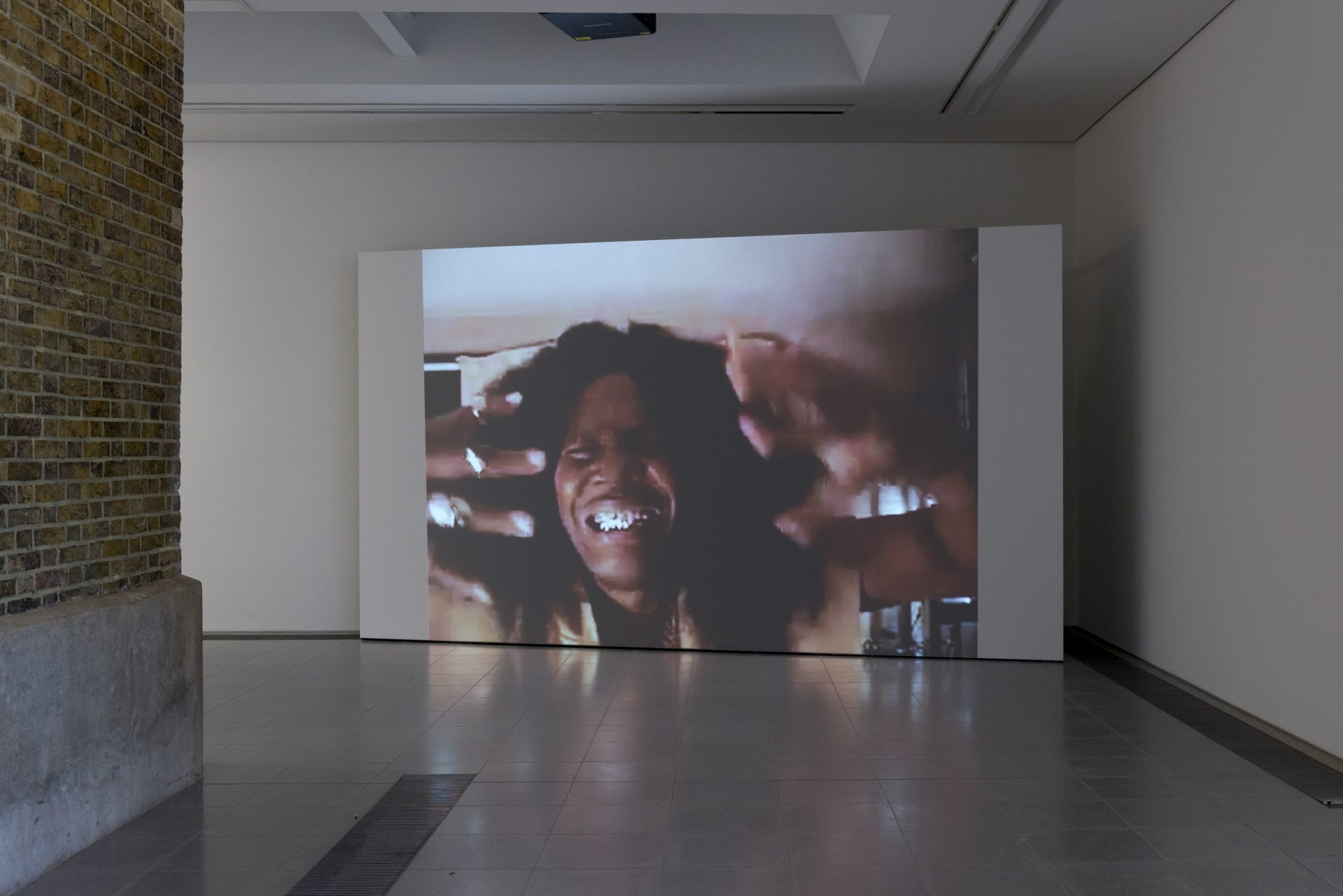 Arthur Jafa, Installation view 'A Series of Utterly Improbable, Yet Extraordinary Renditions', Serpentine Sackler Gallery, London (08 June 2017 – 10 September 2017). Image © Mike Din Download image