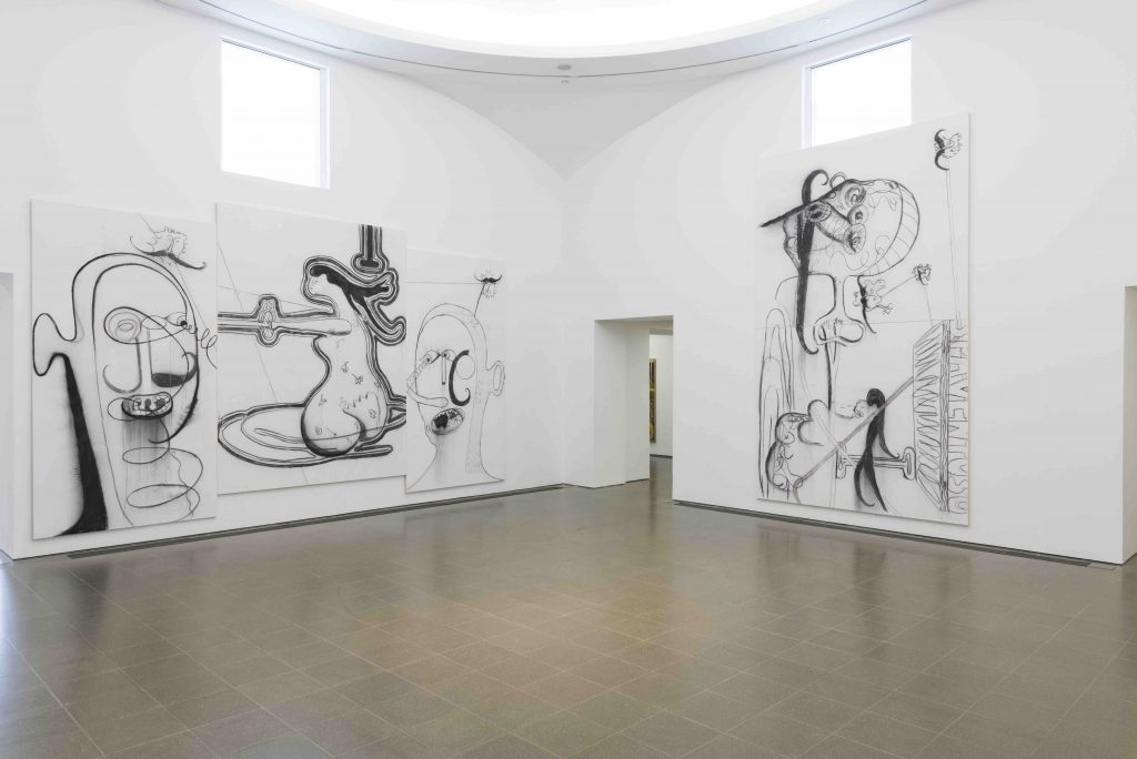 Albert Oehlen (Installation view, 2 October 2019 – 2 February 2020, Serpentine Galleries) © 2019 Photo: readsreads.info