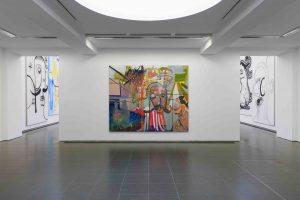 Albert Oehlen (Installation view, 2 October – 2 February 2020, Serpentine Galleries) © 2019 Photo: readsreads.info